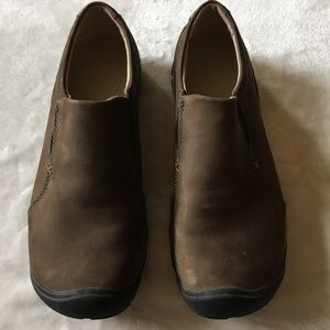 Brown Leather Keen Shoes